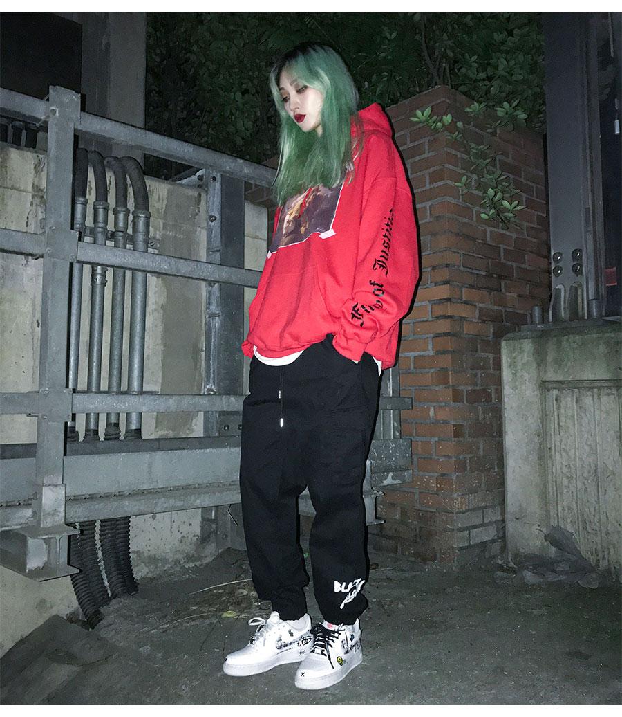 BLACKBLOND - BBD Justitia Hoodie (Red)
