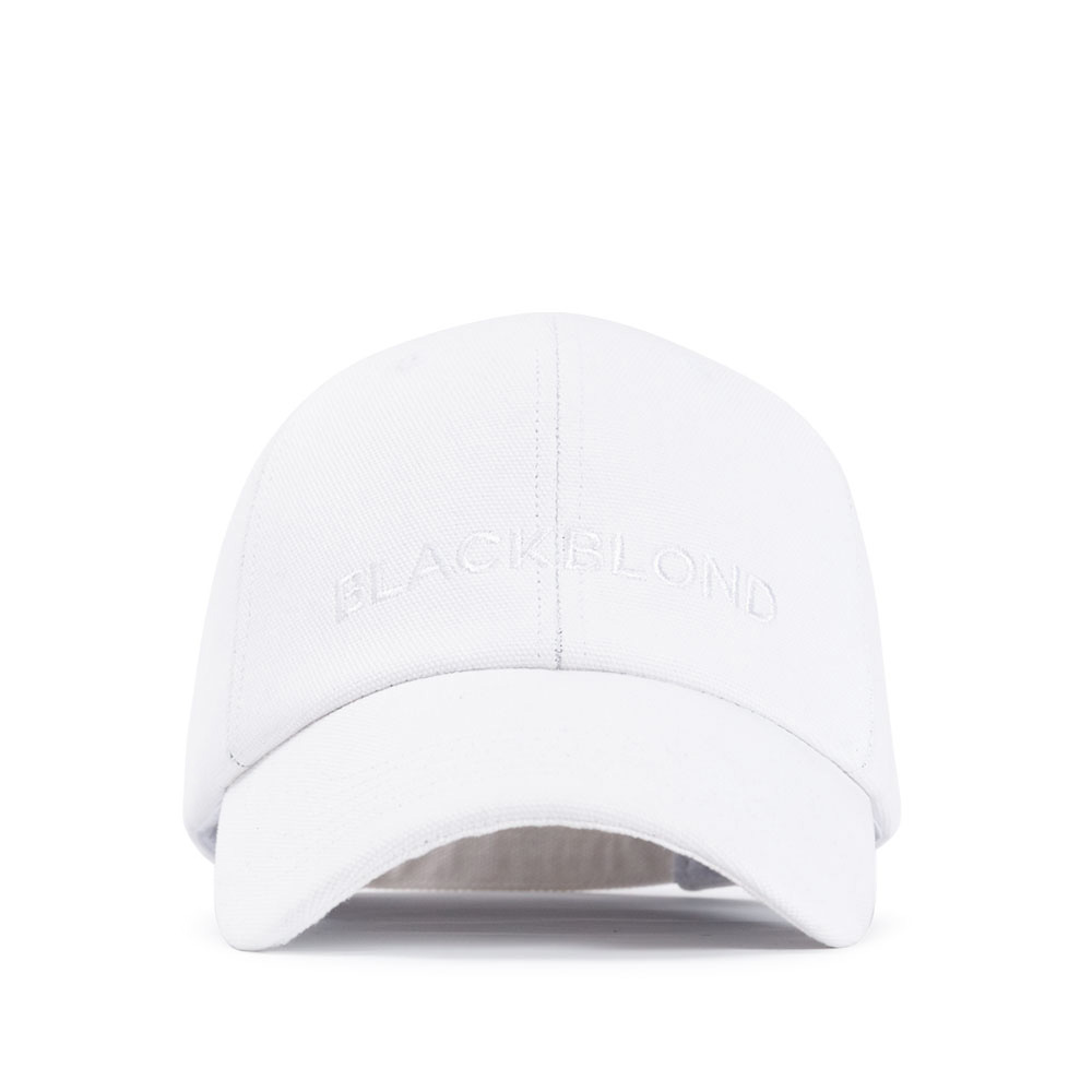BBD Solid Oxford Classic Logo Cap (White)