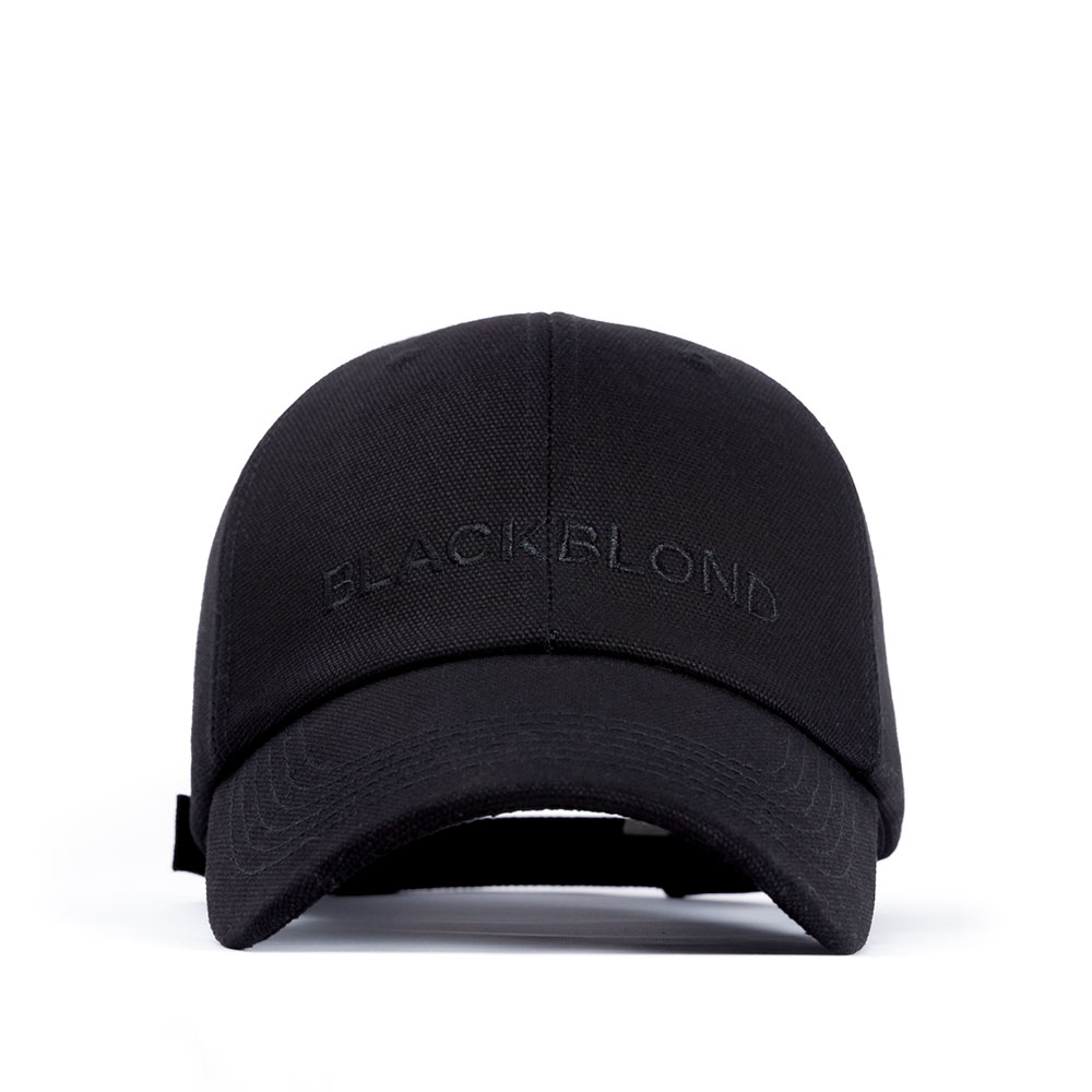 BBD Solid Oxford Classic Logo Cap (Black)