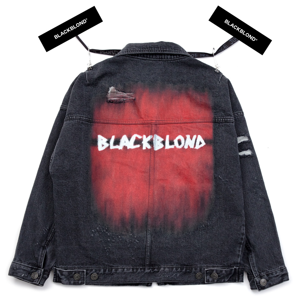 BBD The Last Blood Denim Jacket (charcoal)