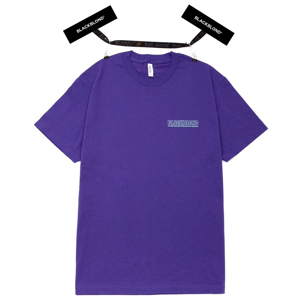 BBD Original Border Logo Short Sleeve Tee (Purple)