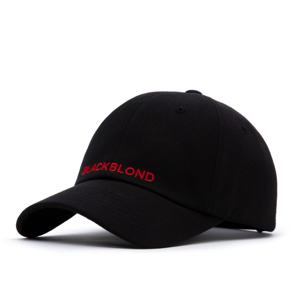 BBD Original Logo Cap (Black/Red)