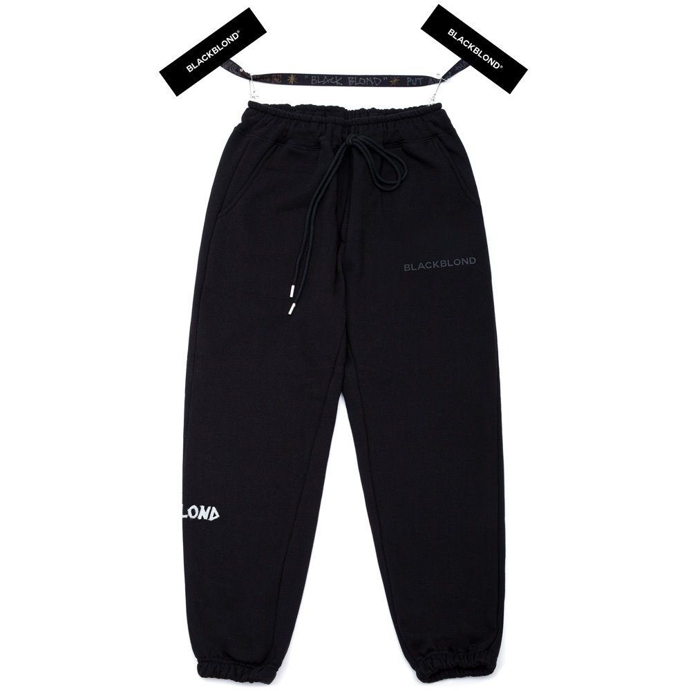 BBD Graffiti Logo Sweatpants (Black)