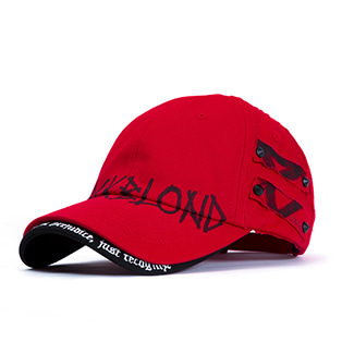 BBD Beyond Graffiti Logo Double Visor Cap (Red)