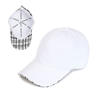 BBD Tweed Cap (White)