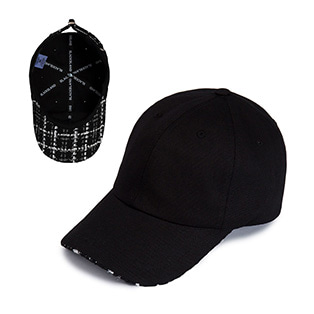 BBD Tweed Cap (Black)