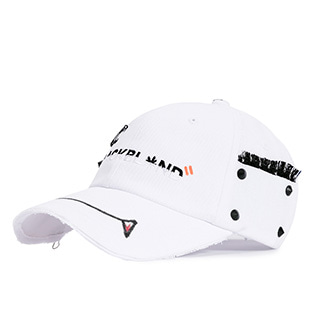 BBD Crazy Graffiti Cap Halloween Edition (White)