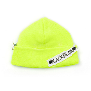 BBD Side Patch Short Beanie (Neon)