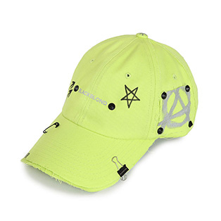BBD Reflection Logo No Sympathy Cap (Neon)