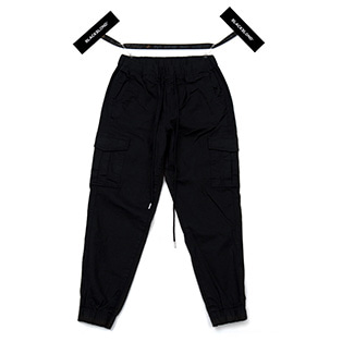 BBD Basic Cargo Jogger Pants (Black)