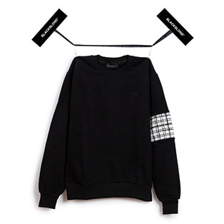BBD Tweed Sweatshirts Ver.2 (Black)