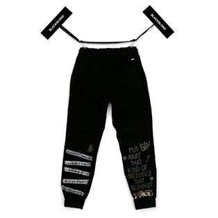 BBD Brutal Graffiti Jogger Pants (Black)