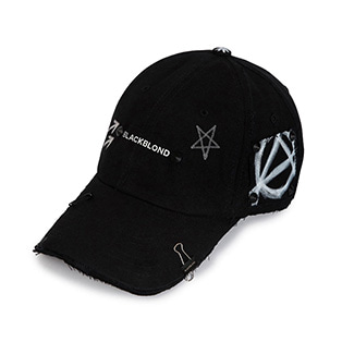 BBD Reflection Logo No Sympathy Cap (Black)