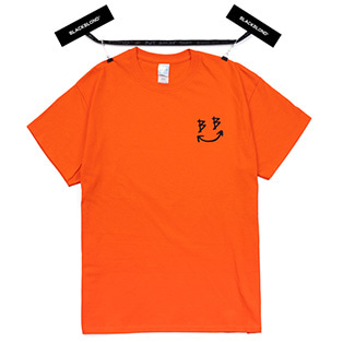BBD Smile Logo Short Sleeve Tee (Orange)