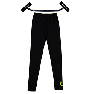 BBD Smile Logo Leggings (Black/Neon Yellow)