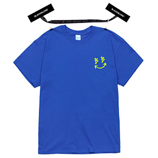 BBD Smile Logo Short Sleeve Tee (Blue)