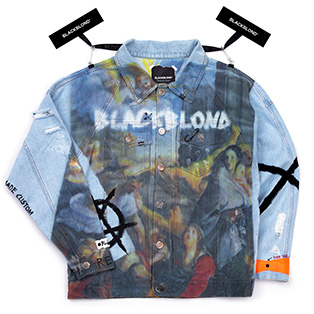 BBD Innocent Full Cover Denim Jacket (Light Blue)