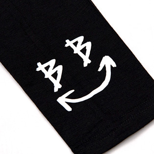 BBD Smile Logo Leggings (Black/White)