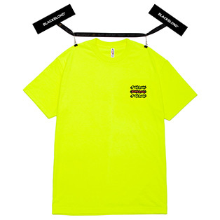 BBD Graffiti Logo Short Sleeve Tee (Neon)