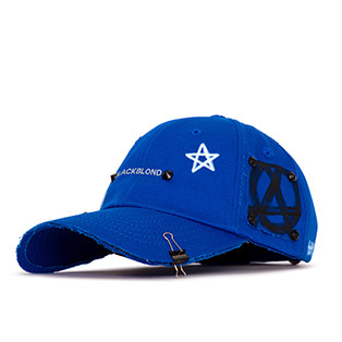 BBD Reflection Logo No Sympathy Cap (Blue)