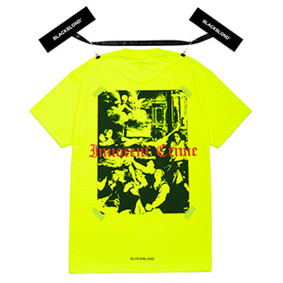 BBD Innocent Shadow Short Sleeve Tee (Neon)