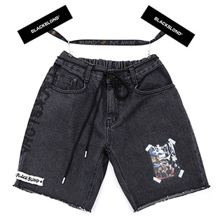 BBD Innocent Denim Shorts (Black)
