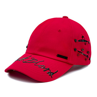 BBD Black Blood Logo Cap (Red)