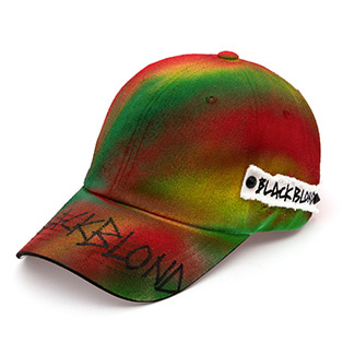 BBD Side Patch Graffiti Logo Sprayed Cap (Multi)