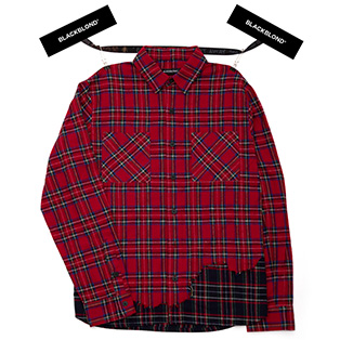 BBD Layered Check Shirt (Red)