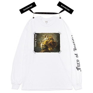 BBD Justitia Long Sleeve Tee (White)