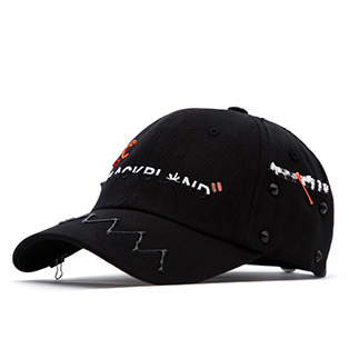 BBD Crazy Graffiti Cap Halloween Edition (Black)
