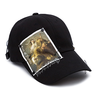 BBD Justitia Patch Cap (Black)