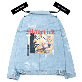 BBD Maverick Denim Jacket (Light Blue)