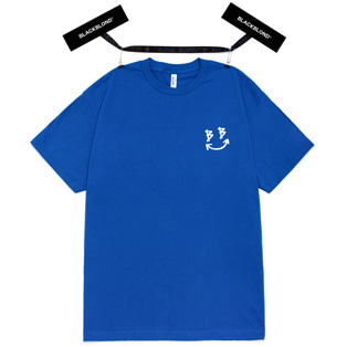 BBD Classic Smile Logo Short Sleeve Tee (Blue)