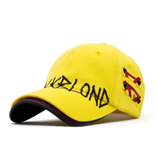 BBD Beyond Graffiti Logo Double Visor Cap (Yellow)