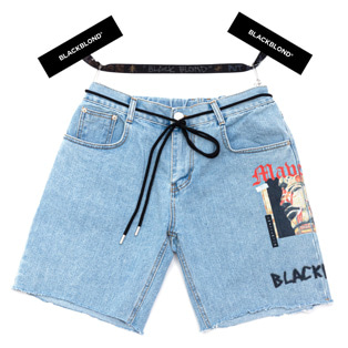 BBD Maverick Denim Shorts (Light Blue)