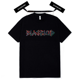 BBD Painted Graffiti Logo Short Sleeve Tee (Black)