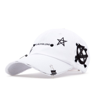 BBD Reflection Logo No Sympathy Cap (White)