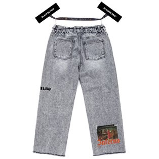 BBD Inferno Crop Denim Pants (Gray)