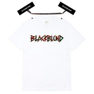 BBD Painted Graffiti Logo Short Sleeve Tee (White)