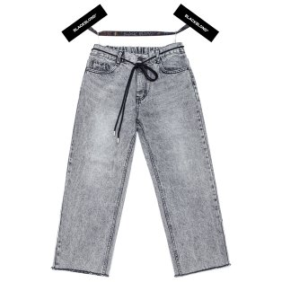 BBD Basic Crop Denim Pants (Gray)