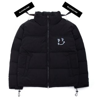 BBD Reflection Classic Logo Duck Down Short Padding Jacket (Black)